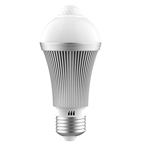 QPAU E26 7W 室内センサーライト 人感センサー 夜灯 昼白色