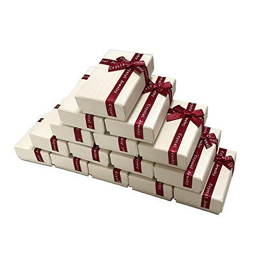 iikuru ギフトボックス アクセサリー ラッピング ラッピングボックス リボン 箱 パッケージ プレゼント 包装 贈り物 15個セット y173