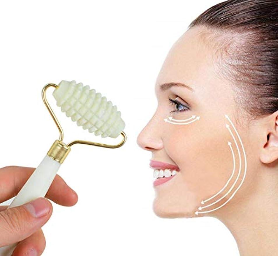 チェリー無視する舌Fairmall 天然石 美顔ローラー フェイスローラー マッサージローラー 美顔器具 しわと腫れ解消 新陳代謝を促進する 筋肉緩和 天然玉の材質 フェイスケア