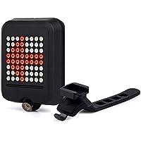 AMZTOLIFE 自転車テールライト 重力センサー 自動ウィンカー 夜間も安全 LED超高輝度 USB充電 IP55防水 TCWD-71