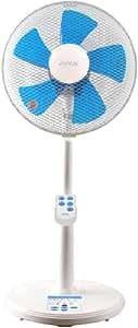 ZEPEAL 【ON/OFFダブルタイマー】 30cmリビング扇風機(リモコン) ブルー DRT-A3312(BL)