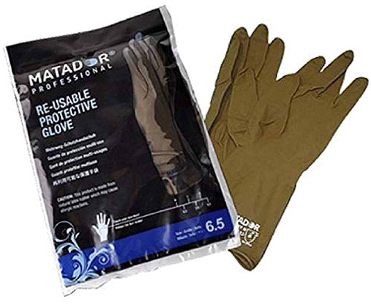床暗い分注するマタドールゴム手袋 6.5吋 【24個セット】