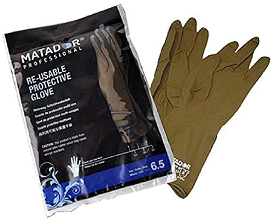 ポンペイ脱獄陸軍マタドールゴム手袋 6.0吋 【24個セット】