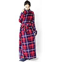 【同色2张一套】fondan 穿着的毛毯 FDRM-054