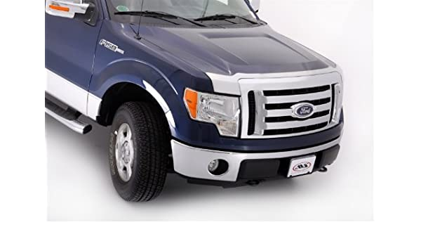 Auto Ventshade 622001 Aeroskin Large Chrome Hood Shield