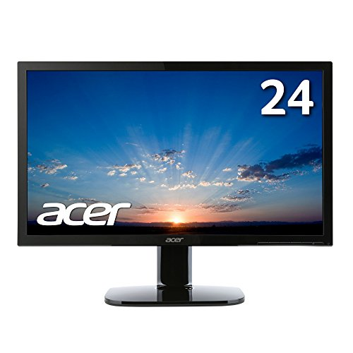 Acer モニター ディスプレイ KA240Hbmidx 24インチ/HDMI端子対応/スピーカー内蔵/ブルーライト軽減