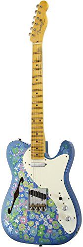 Fender Custom Shop 2017 NAMM SHOW Limited 50s Telecaster Thinline Relic (Blue Flower Top/Blue Sparkle Back)