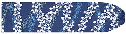 [해외]파란색 빠 우스 카토 케이스 프르 레이 무늬 pcase-2586BL 맞춤형 훌라 스커트를 작게 수납 훌라 용/Blue Powerscart Case Plumeria · Lei Pattern pcase-2586 BL Small Order Made Hula Skirt for Hula Dance