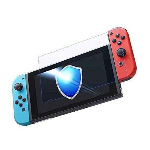 Nintendo Switch 保護フィルム-DOSMUNG(2枚セット)任天堂 Switch ガラス フィルム-強化保護ガラス