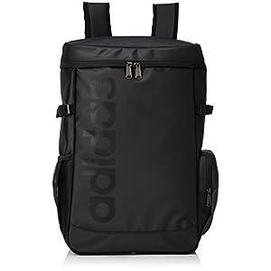 [アディダス] リュックサック バックパック メンズ ボックス型 26L 55044 01 ブラック