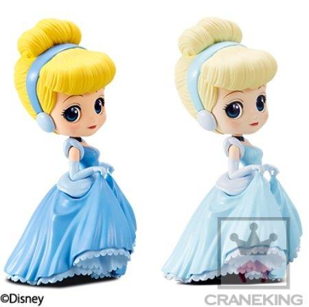 Q posket Disney Characters ー Cinderella ー ディズニー シンデレラ ー 全2種セット (ノーマルカラー・特別カラー)
