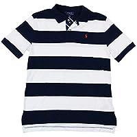 POLO RALPH LAUREN Big Boys Short Sleeve Striped Polo Shirt