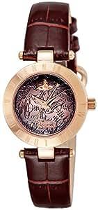 [ヴィヴィアン・ウエストウッド]VivienneWestwood 腕時計 ウエストボーンⅡ ブラウン文字盤 VV092BRBR レディース 【並行輸入品】