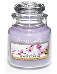 Yankee Candle Honey Blossom Small Jar Candle, Floral Scent by Yankee Candle [並行輸入品]