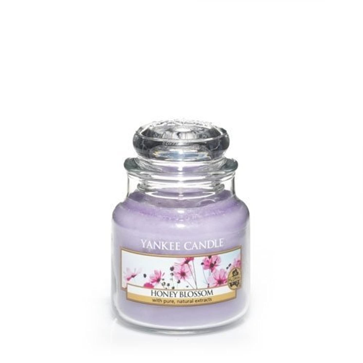 天国独裁無駄Yankee Candle Honey Blossom Small Jar Candle, Floral Scent by Yankee Candle [並行輸入品]