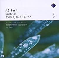 Cantatas Nos. 8 & 26 & 61 & 130 by J.S. Bach (2006-04-04)