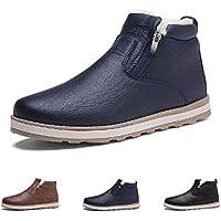 スノーブーツ メンズ ブーツ 冬靴 防寒 防水 防滑の綿靴 ショートブーツ スニーカー 雪靴 裏起毛 冬用ブーツ 軽量 ハイキング