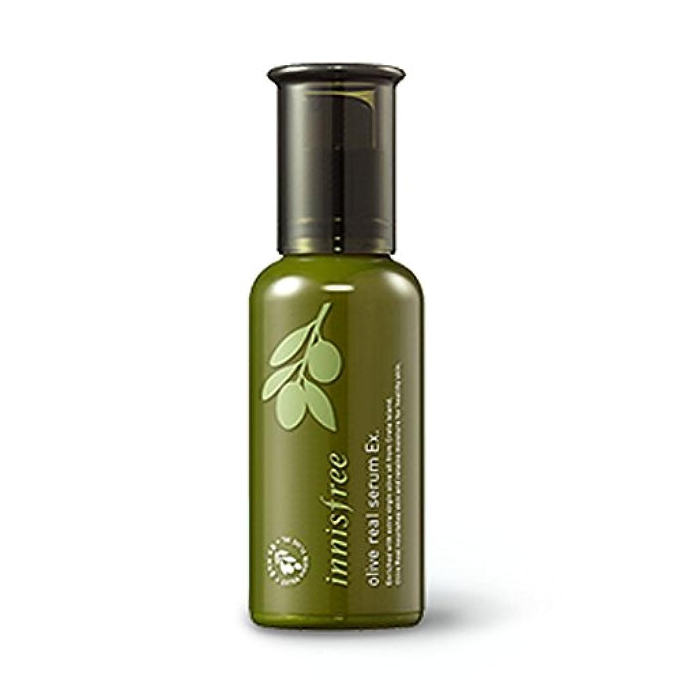 ペイントグラスに勝るイニスフリーオリーブリアルセラム 50ml / Innisfree Olive Real Serum Ex. 50ml[海外直送品][並行輸入品]