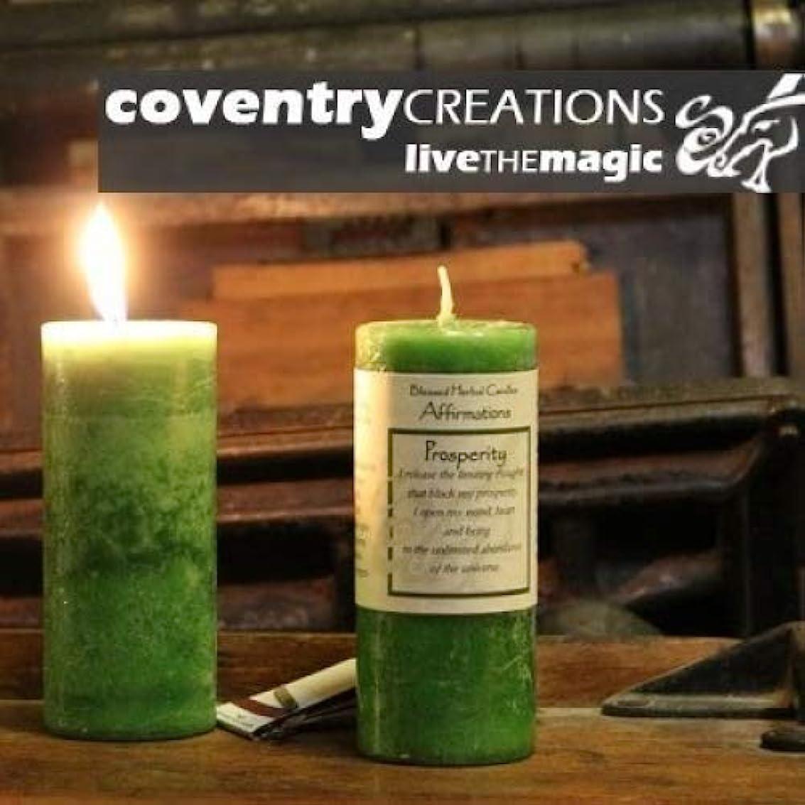 位置づける残り物同意Affirmations - Prosperity Candle by Coventry Creations