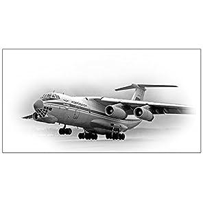 ズベズダ 1/144 ソ連軍 イリューシン IL-76MD 大型ジェット輸送機 プラモデル ZV7011