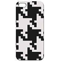 iPhoneSE iPhone5 iPhone5s バンパーハードケース オリジナルデザイン チェック柄 012 完全受注生産(マット仕上バンパー付)