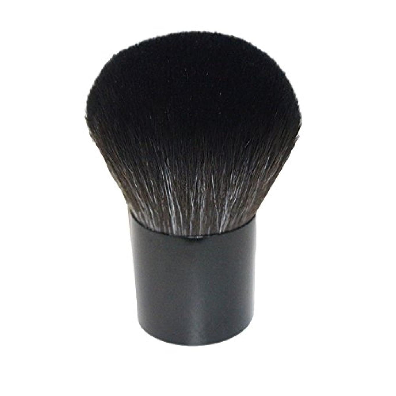 リスクマットレス試み笑え熊 化粧筆 コスメブラシ 化粧ブラシ 多機能メイクブラシケース 扇形 ハイライト 毛質ふわふわ 激安 オススメ (ブラック2)