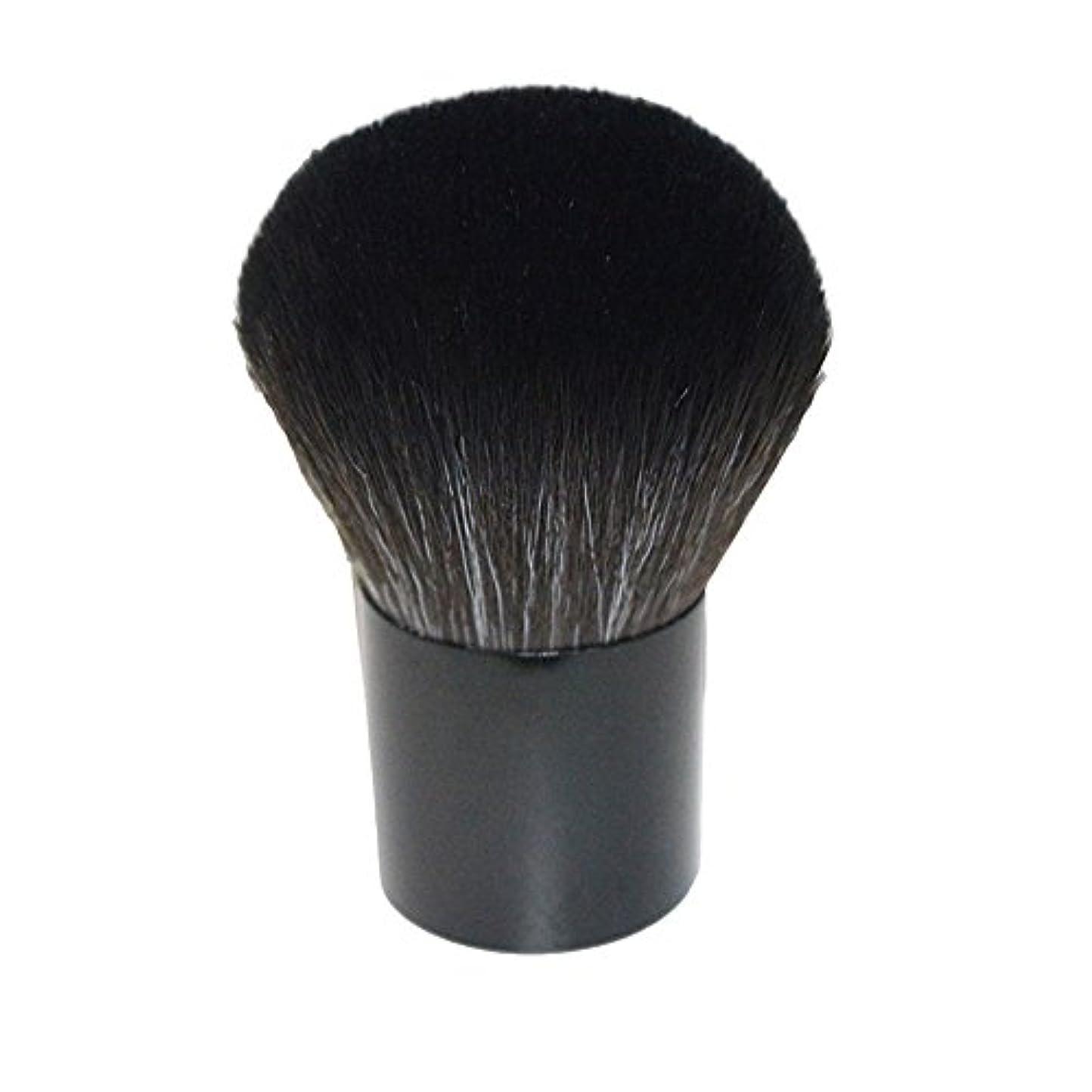 溶けるバイパスハーブ笑え熊 化粧筆 コスメブラシ 化粧ブラシ 多機能メイクブラシケース 扇形 ハイライト 毛質ふわふわ 激安 オススメ (ブラック2)