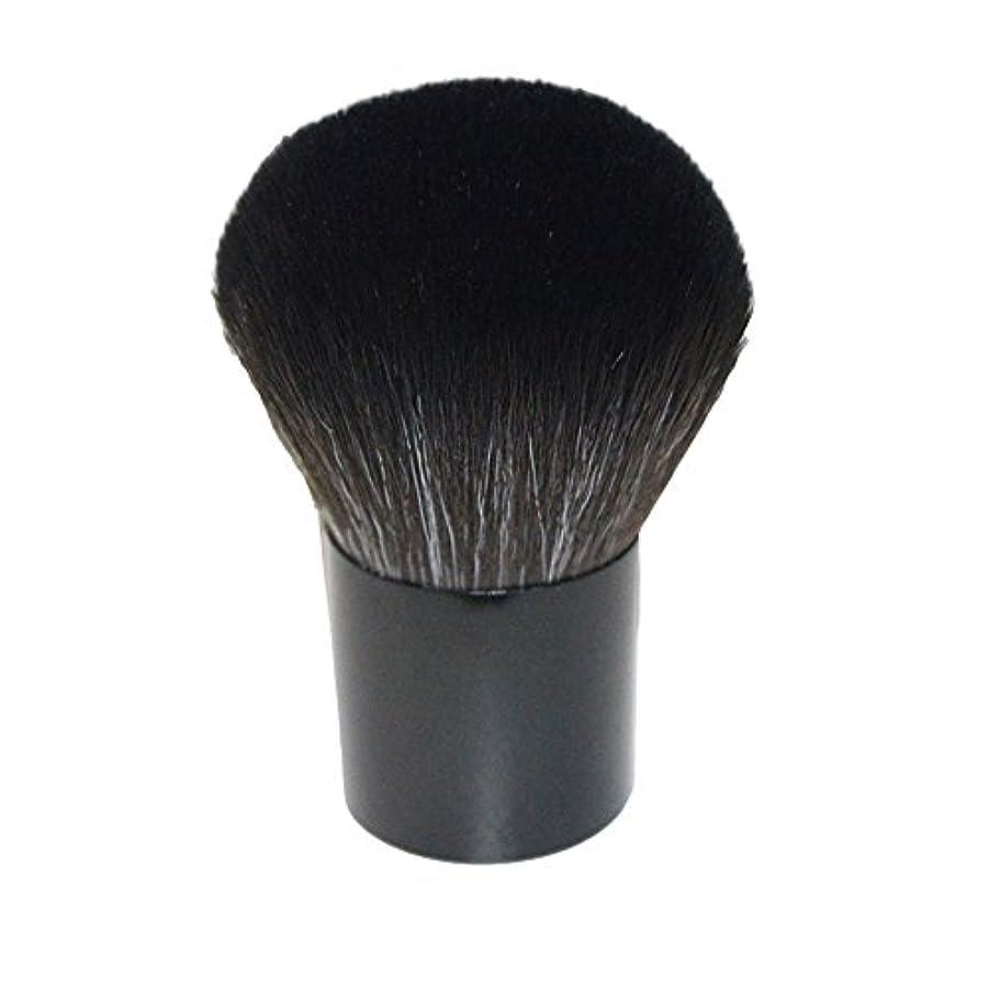 ウェブノーブルコーチ笑え熊 化粧筆 コスメブラシ 化粧ブラシ 多機能メイクブラシケース 扇形 ハイライト 毛質ふわふわ 激安 オススメ (ブラック2)