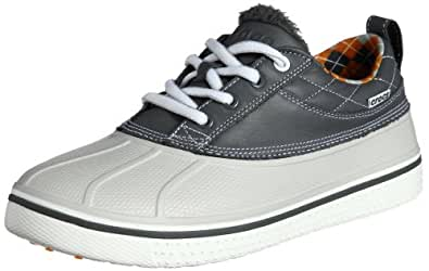 [クロックス] Crocs Allcast Duck Golf Shoe Men 12942 charcoal/white(charcoal/white/M7)