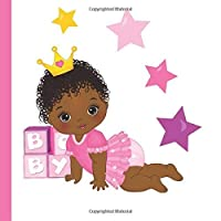 African American Girl Baby Shower Guest Book: Beautiful African American Girl Baby Shower Guest Book + Plus Bonus Gift Tracker + Bonus Baby Shower FavorsAfrican American Baby Shower Decor [並行輸入品]