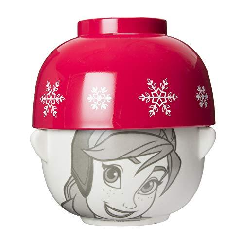「 アナと雪の女王 」 アナ 汁椀・茶碗 セット ミニ SAN2371-2