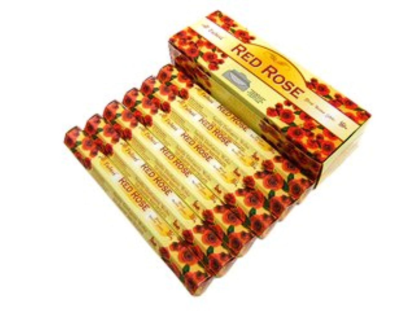 マイナー眠いですソロTULASI(トゥラシ) レッドローズ香 スティック RED ROSE 6箱セット