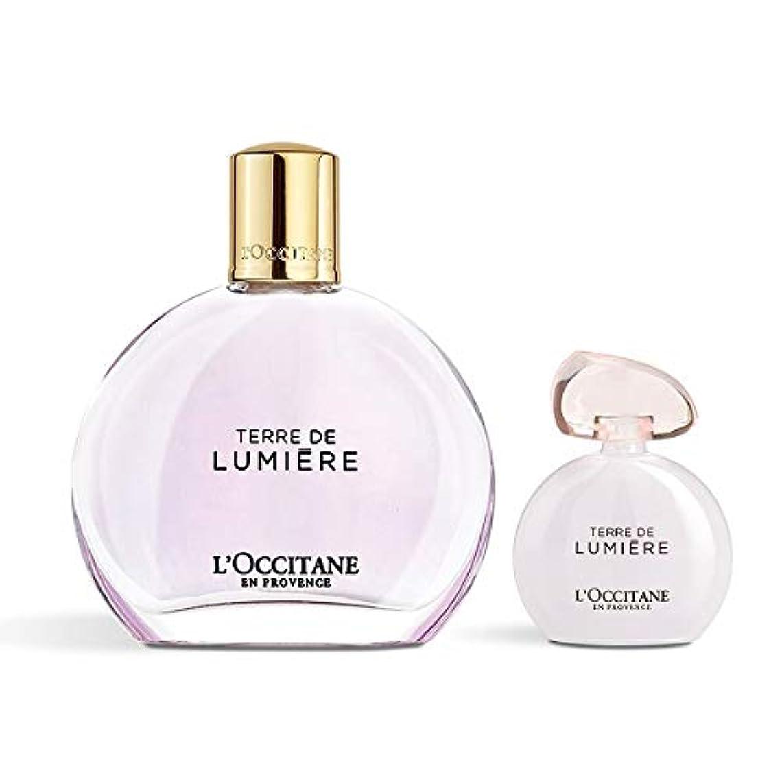 脅威くさび媒染剤ロクシタン(L'OCCITANE) テール ド ルミエール フレグランスヘアミストスペシャル