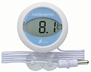 シンワ測定 冷蔵庫用 温度計 デジタルT 丸型 72980