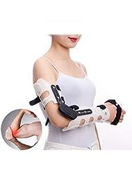 骨折した腕の肘のための腕サポート腕の吊り鎖、鎮痛剤および固定のための装具ROMのためのサポート肘 - 1サイズ - 男女兼用