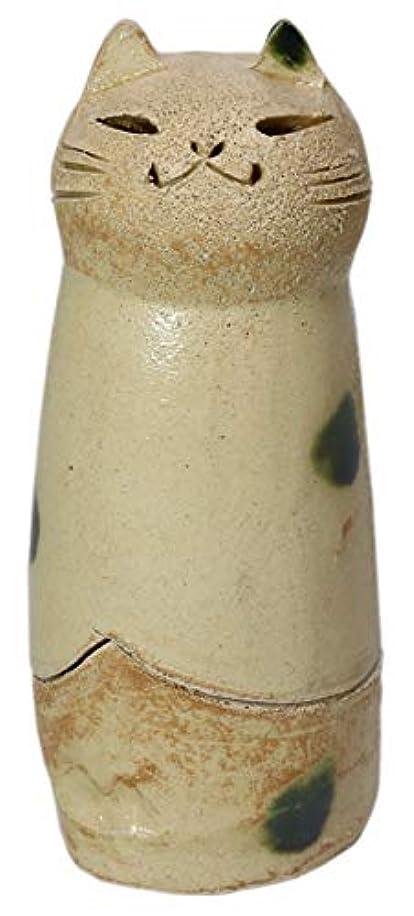 家具領域湿気の多い香炉 立ちネコ 香炉(大) [R5xH12cm] HANDMADE プレゼント ギフト 和食器 かわいい インテリア