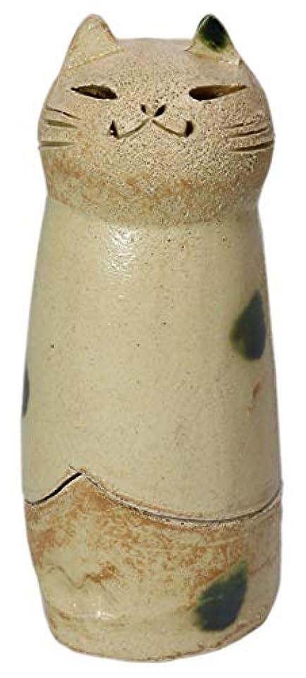 普通の国旗ミッション香炉 立ちネコ 香炉(大) [R5xH12cm] HANDMADE プレゼント ギフト 和食器 かわいい インテリア