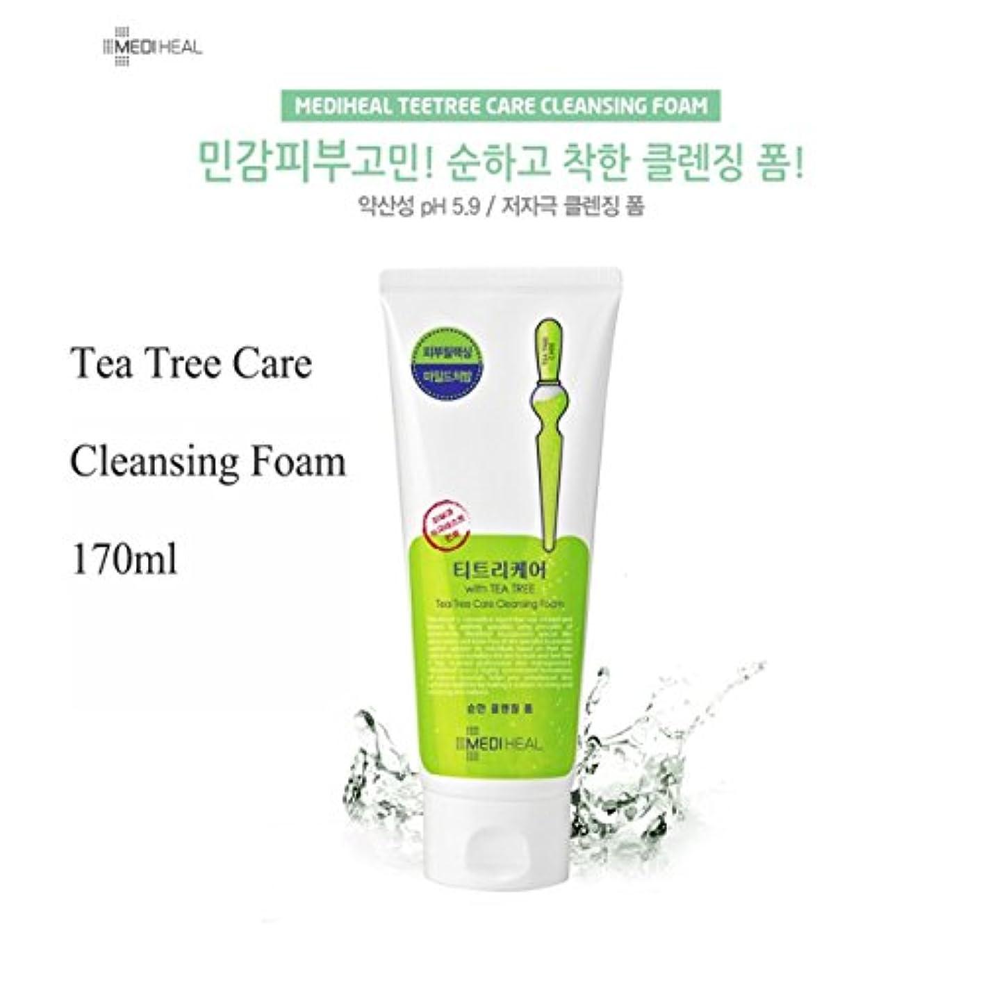 印象派手存在MEDIHEAL Tea Tree Foam Cleansing 170ml/メディヒール ティー ツリー フォーム クレンジング 170ml
