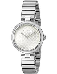 [グッチ]GUCCI 腕時計 ディアマンティッシマ シルバー文字盤 YA141402 レディース 【並行輸入品】