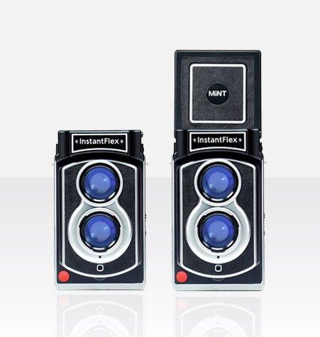 世界初!二眼レフインスタントカメラ InstantFlex TL70(日本発売記念フィルム10枚プレゼント)
