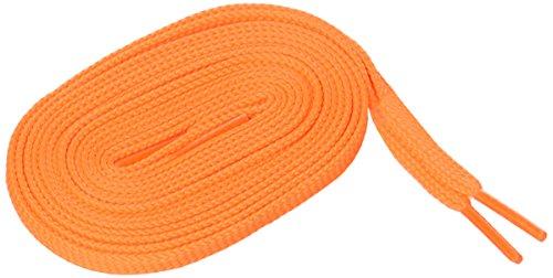 MIZUNO(ミズノ) フラットシューレース [平型] 8ZA21054 オレンジ 130