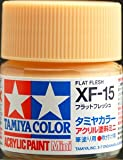 タミヤカラー アクリルミニ XF-15 フラットフレッシュ つや消し