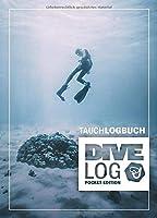 Tauchlogbuch I Dive Log Pocket Edition: Kleines Logbuch als Geschenk fuer Taucher & Scuba Diver zum dokumentieren von 80 Tauchgaengen I Inhaltsverzeichnis I Format: DIN A6 I 84 Seiten