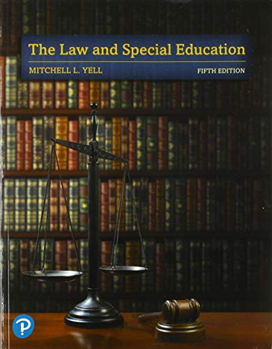 Download The Law and Special Education (5th Edition) 0135175364