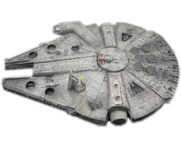 AMT/ERTL STARWARS ミレニアム・ファルコン 38273