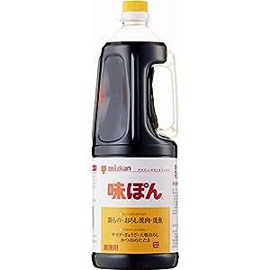 ミツカン 味ぽん 1800ml