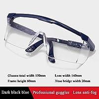 ゴーグル、ほこりを保護する保護メガネ、目を保護するためのPC素材拡張フランクドロップレット、紫外線