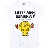 TruffleShuffle Womens White Little Miss Sunshine T Shirt - 70s Fairytale and Story Tees