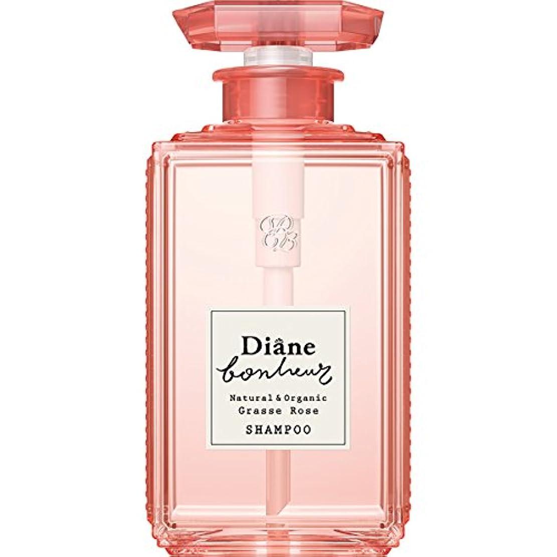 欲求不満符号散るダイアン ボヌール グラースローズの香り ダメージリペア シャンプー 500ml