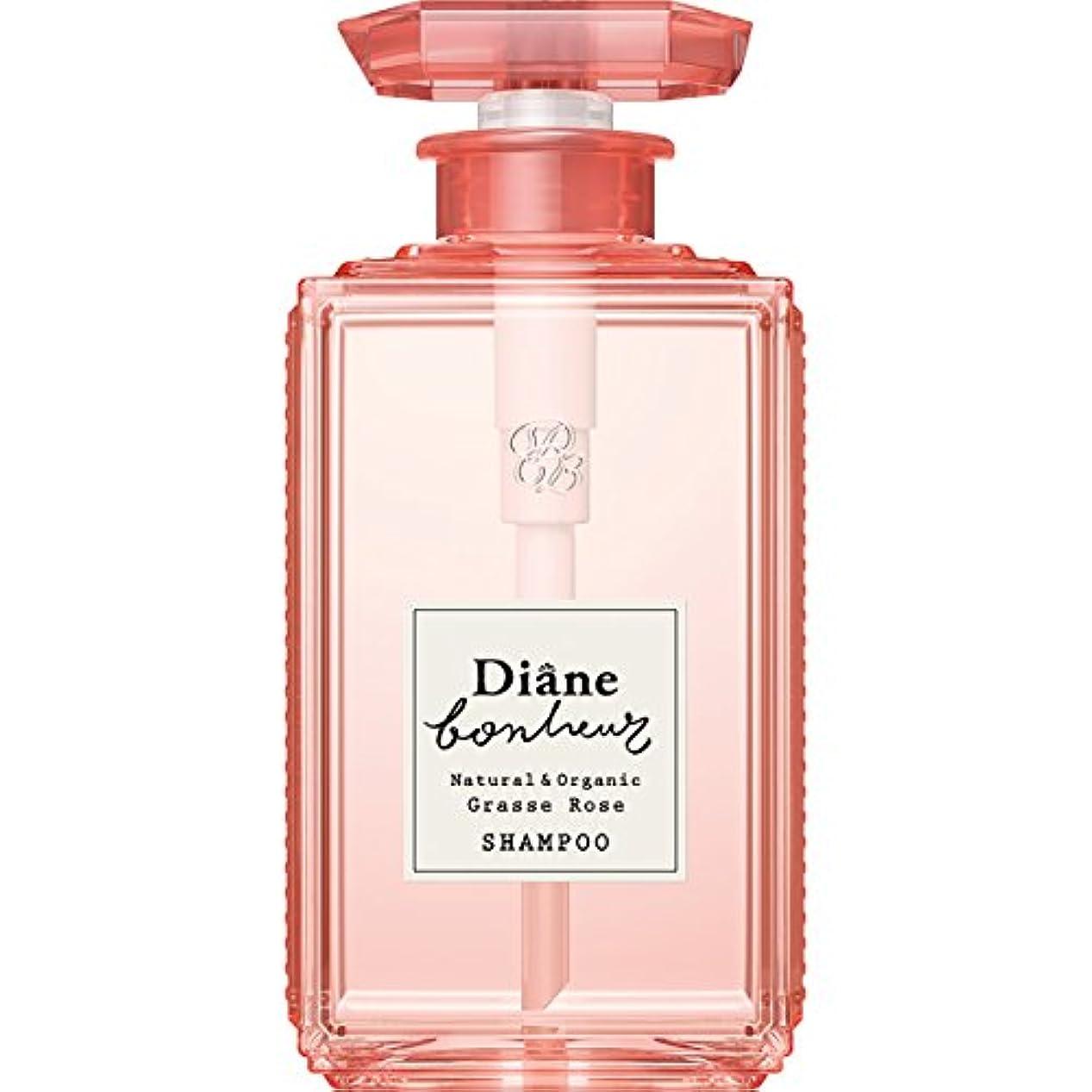 アルコール眉をひそめる調整可能ダイアン ボヌール グラースローズの香り ダメージリペア シャンプー 500ml
